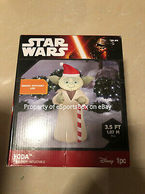 NEW Disney Star Wars Yoda 3.5 ft Christmas Airblown Inflatable by Gemmy