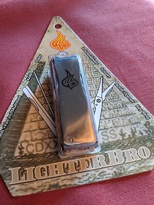 LighterBro Stainless Steel Icon Lighter Sleeve