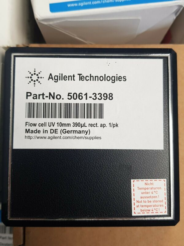Agilent Flow Cell UV 10mm 390ul rect ap. 1/pk 5061-3398