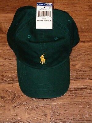 5f073aba7f1 POLO RALPH LAUREN BASEBALL CAP HATS PONY LOGO ONE SIZE ADJUSTABLE NWT