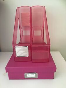 Magazine holders and document box Tarragindi Brisbane South West Preview