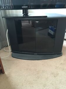 Tv stand and wooden cabinet