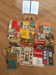 Vintage cookbook Lot