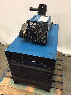 Miller Deltaweld 452 450 Amp Mig Welder W S-62 24v Constant Speed Wire Feeder