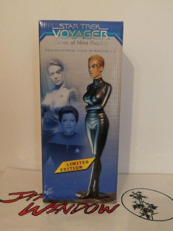 Seven Of Nine Limited Edition Muckle Star Trek Voyager Not For Sale Bonus Figure