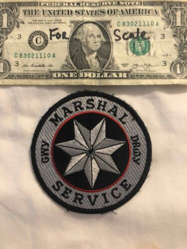 Rare Cherokee Nation Marshal Service Police Patch Pre-sewn State of Oklahoma