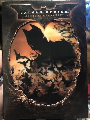 Batman Begins Limited Edition Collectable Gift Set DVD