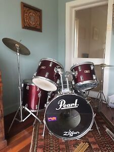 5 piece pearl drum kit Bellevue Hill Eastern Suburbs Preview