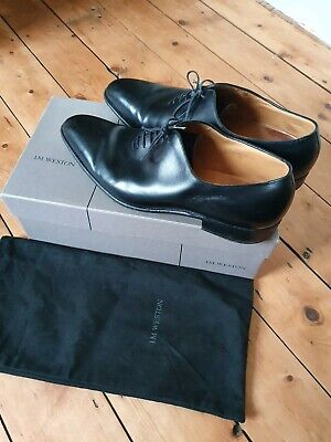 J M Weston One cut Mens Black Shoes  RRP £720 Churches Barkers