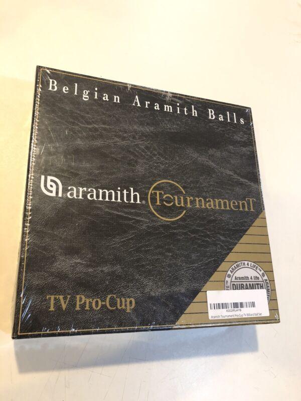 Aramith Tournament Pool Balls Set DURAMITH Technology Fast Ship Sealed