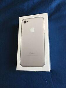 iPhone 7 256gb Unlocked Silver **Brand New Sealed Box** Mount Gravatt Brisbane South East Preview