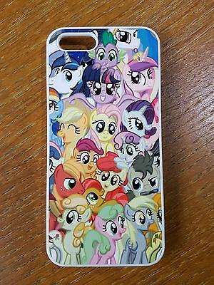 For iPhone iPod Touch Sony Samsung Phone My Little Pony Style Back Hard Case  Samsung Ipod Touch