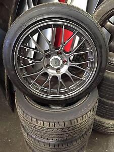 "ENKEI WHEELS SUIT NISSAN TOYOTA FORD MAZDA ETC 17"" 5X114.3 Girraween Parramatta Area Preview"