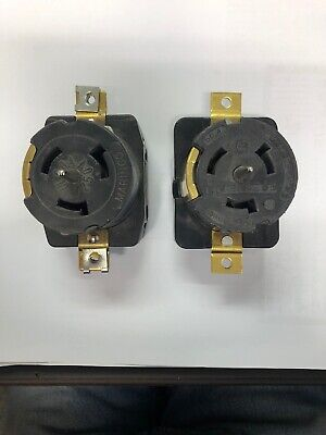 50 Amp Outlet Receptacle California Style Cs6369 125250 Volt Spider Box