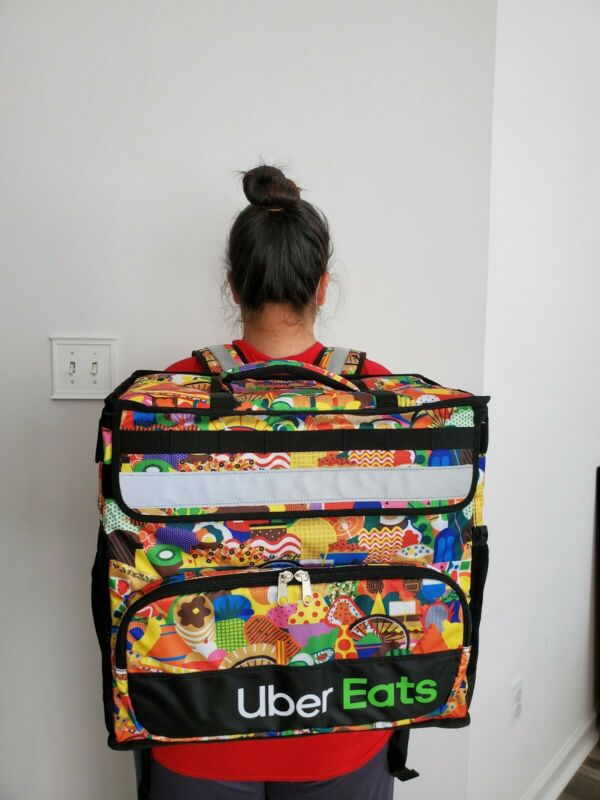UBER EATS LIMITED EDITION (Melanie) Insulated Bag *USA SELLER* *LIMITED EDITION*