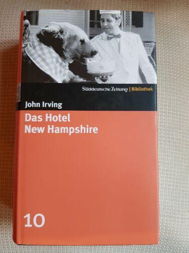 John Irving - Das Hotel New Hampshire - Buch SZ Bibliothek Nr. 10 geb. Ausgabe