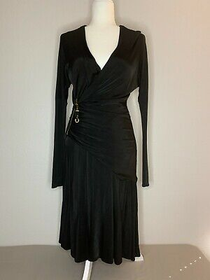 Class roberto cavalli black dress Cocktail Size 8