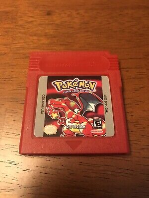 Pokemon Red Version Game Boy GBA REPRODUCTION USA SELLER Fast Free Shipping!