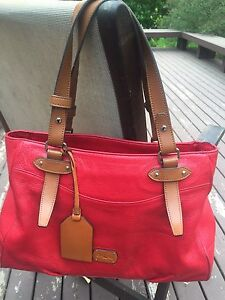 Ralph Lauren leather hand bag