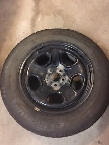 REDUCED!! Set of winter tires with rims 235/65 R18