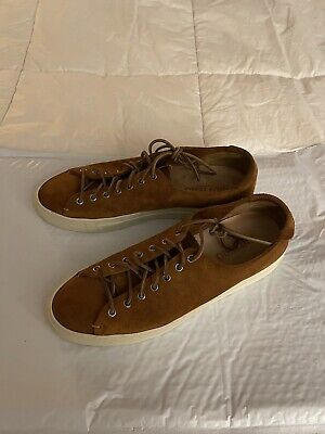Buttero Made In Italy Tanino Suede Shoes 43 Fits US11-US11.5