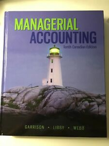 MANGERIAL ACCOUNTING 10th EDITION