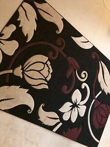 Floral Chocolate rug