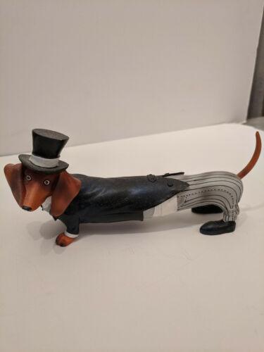 Hot diggity Dog Dachshund Weiner Dog Figurine