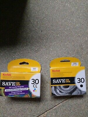 Genuine KODAK 30CL & 30B Series Tri-colour & Black Ink Cartridges Free Delivery
