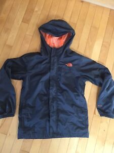 Boys North Face Rain jacket size L (14-16)