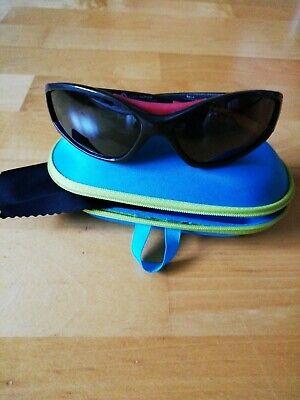 Fast neue Sonnenbrille für Kinder Sportbrille hochwertig mit stabiler Hülle TOP!