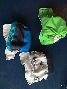 Infant cloth diapers