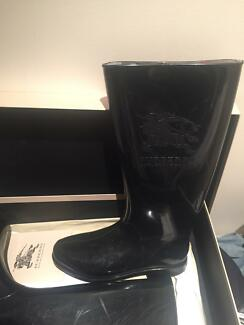 Burberry Shoes Boots Rubber Black North Sydney North Sydney Area Preview