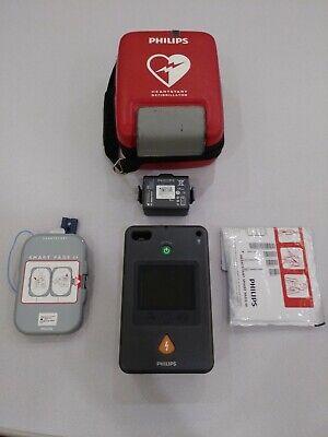 Philips Heartstart Fr3 With Battery Exp 62024casepads Infant Key Warranty