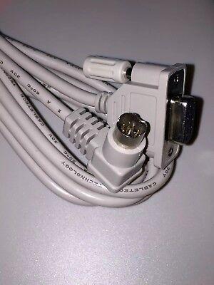 1761-cbl-pm02 Allen Bradley Ab Micrologix Cable 100012001500 Plc 90 Deg End