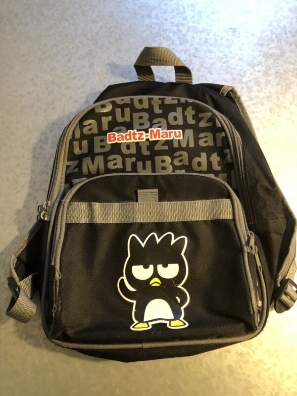 Badtz Maru Small backpack book bag Hello Kitty Sanrio