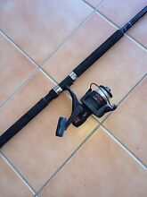 1 fishing rod ryobi and reel 2 pieces Good condition Tanah Merah Logan Area Preview