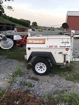 2004 Bobcat 6kw Light Plant Generator Diesel