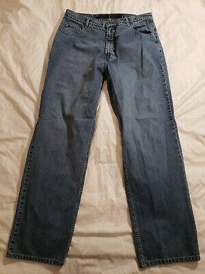 """Carhartt Men/'s Relaxed Fit Straight Leg Jean B350 LCW Size 36/"""" X 30/"""""""