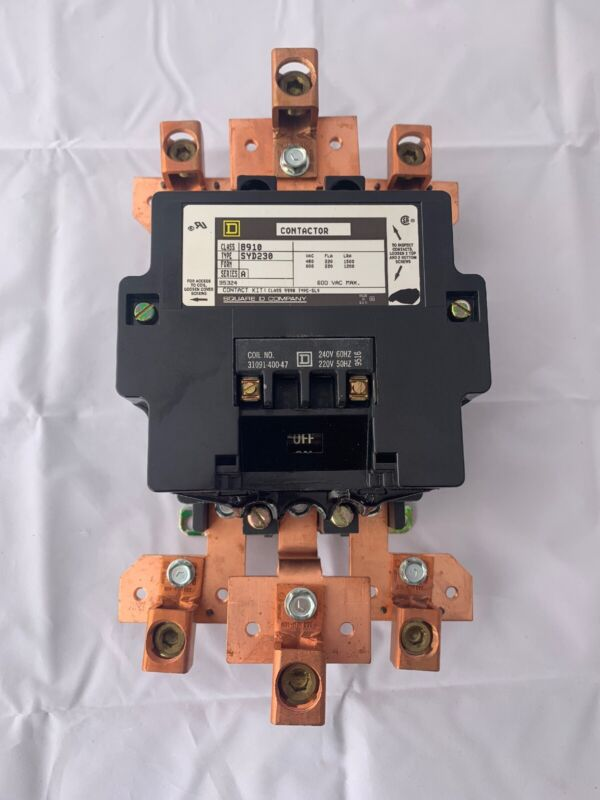 Square D Class 8910 Type SYD230 Series A CONTACTOR