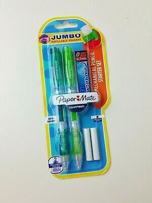 Paper Mate Clearpoint Mechanical Pencil Starter Set 0.7 Mm W Lead Refills Jumbo
