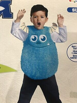Toddler Sulley Monsters Inc Costume (Monsters Inc University Toddler 3-4T Sulley Costume)