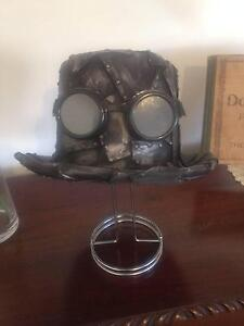 Handmade Steampunk Top Hat with goggles Yokine Stirling Area Preview
