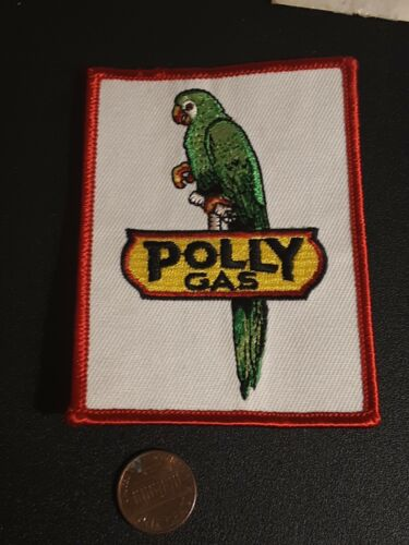 Polly Gas Co Patch - Vintage - Original Packaging - NOS - Dallas Refinery Co
