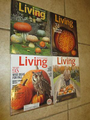Martha Stewart Living HALLOWEEN Magazine OCTOBER 2009 2011 2013 2014 2017 LOT 4](Martha Stewart Living Halloween)