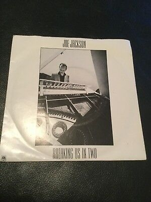 "JOE JACKSON - BREAKING US IN TWO - 7"" VINYL - NEW WAVE / PUNK / ROCK"