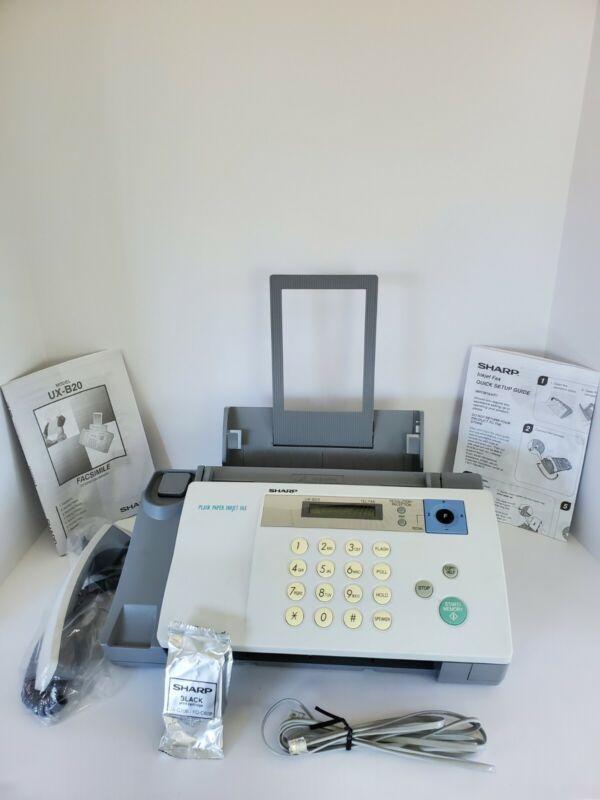 Sharp Plain Paper Inkjet Fax Machine UX-B20 NEW Open Box