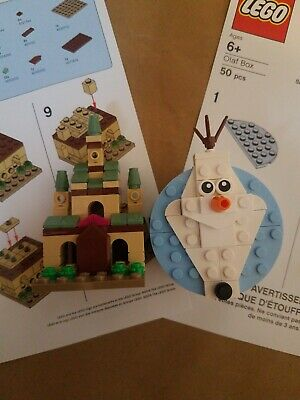 LEGO Frozen 2 - Exclusive Mini Arendelle Castle and Olaf Box New B&N Joann Event