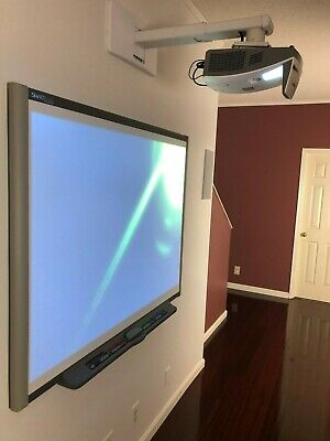 Interactive Smart Board Sb660 And Vivitek D751st Short Throw Projector