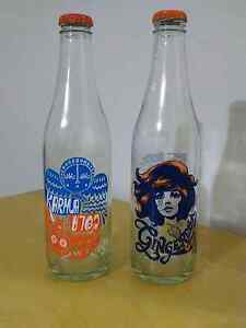 Collectable limited edition soda glass bottles Georgetown Newcastle Area Preview